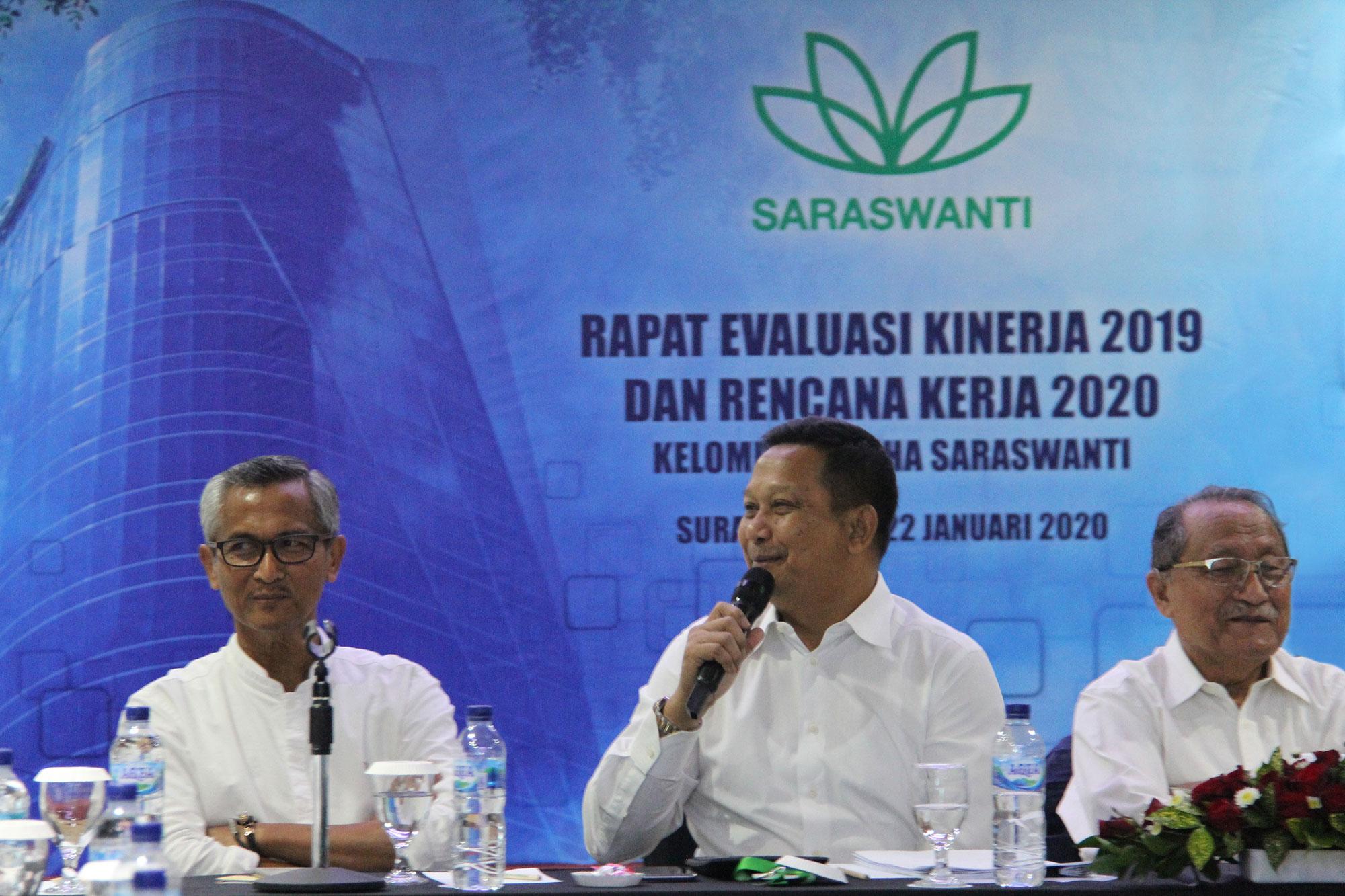 Saraswanti Group Rapat Evaluasi Kinerja 2019 Rencana Kerja 2020 01