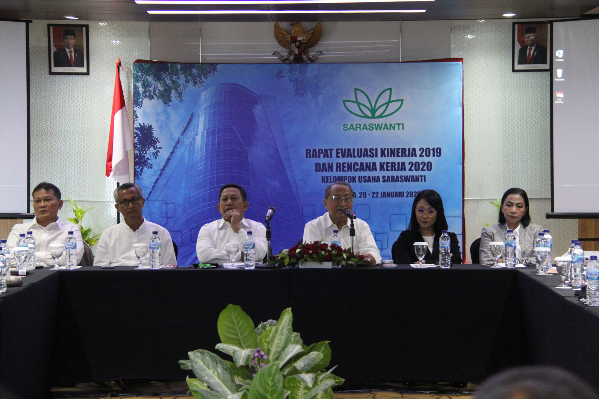 Saraswanti Group Rapat Evaluasi Kinerja 2019 Rencana Kerja 2020 02